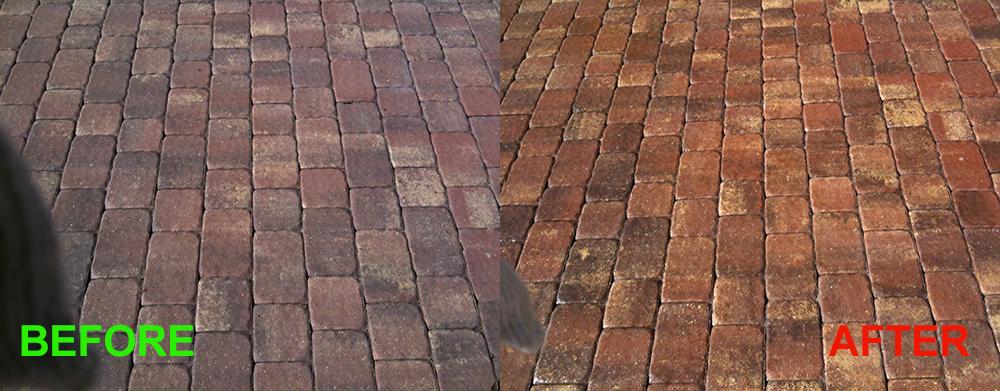 Exterior brick sealer