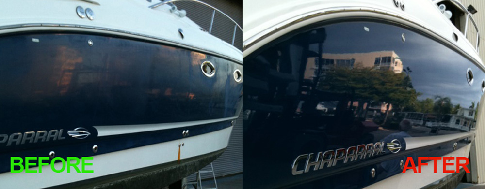 Boat Detailing In Naples Florida Premier Polishing